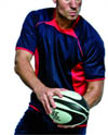 Rugby shirts, for leisure and play